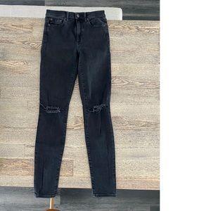 GAP: Black high waisted skinny jeans